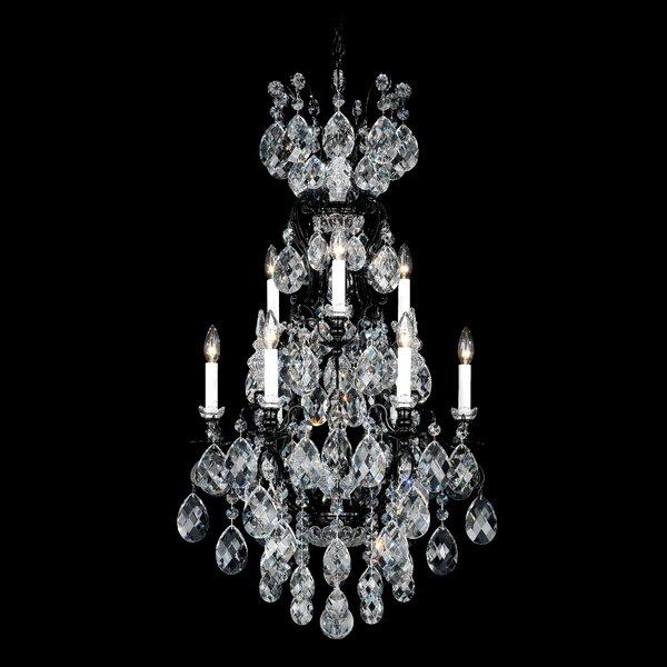 Renaissance 9-Light Candle Style Tiered Chandelier by Schonbek Schonbek