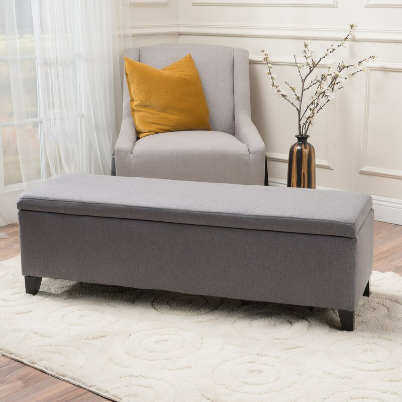 storage bench for bedroom schmit upholstered storage bench amp reviews allmodern 17419