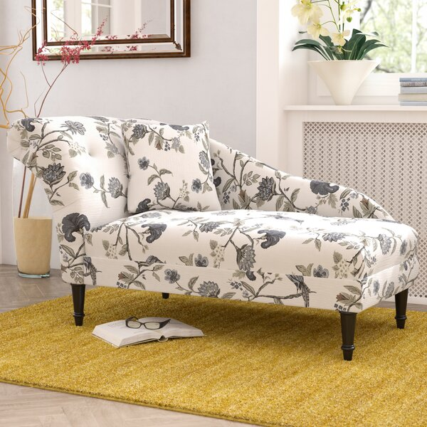 Triplehorn Ink Chaise Lounge by Darby Home Co