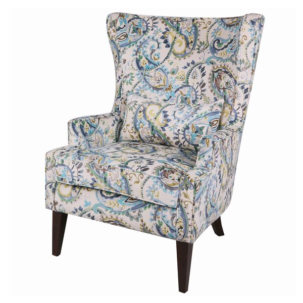Tori Wingback Chair by Ophelia & Co.