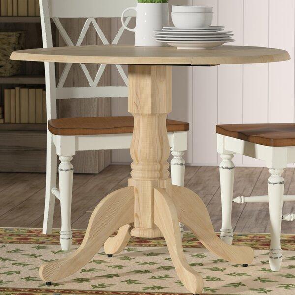 Lynn Dining Table with Dual Drop Leaf by Mistana