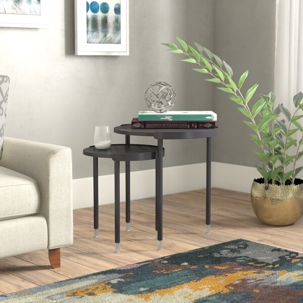 Wethersfield 2 Piece Nesting Tables By Ivy Bronx