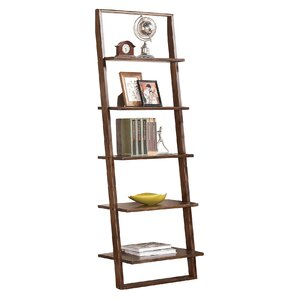"Simonetti 72"" Leaning Bookcase"