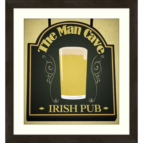 Irish Pub Giclée Framed Graphic Art by PTM Images