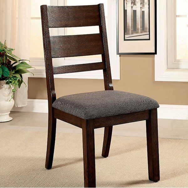 DeAndre Cottage Solid Wood Dining Chair (Set of 2) by Red Barrel Studio
