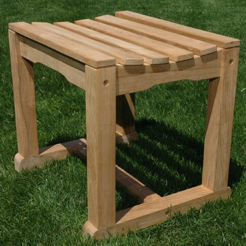 Teak Backless Garden Bench by Regal Teak