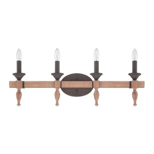 Great Price Mahon 4-Light Vanity Light By Union Rustic