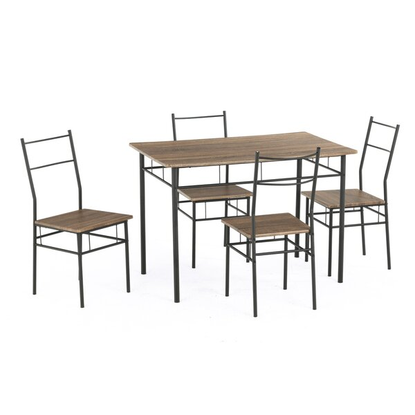Segolene 5 Piece Dining Set by Ebern Designs Ebern Designs