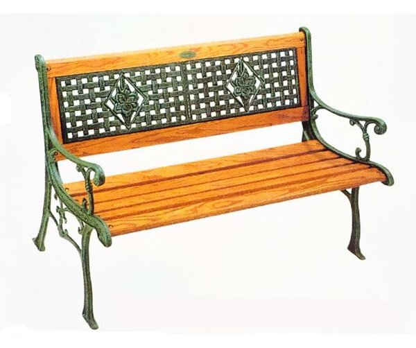 Lexington Cast Iron Park Bench by DC America