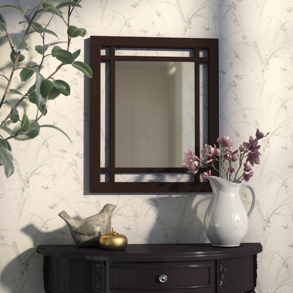 Bewley Rectangular Wall Mirror by Three Posts