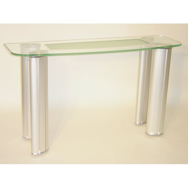 Tryptic Console Table by Chintaly Imports
