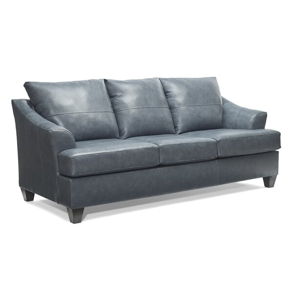 Buy Online Cheap Stjohn Leather Sofa Bed by Ivy Bronx by Ivy Bronx