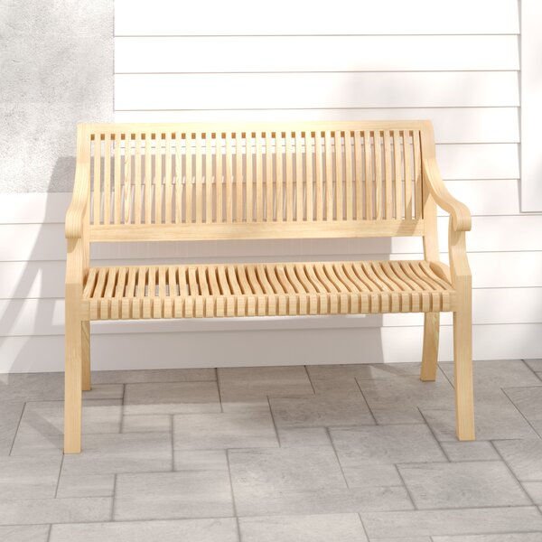 Palm Teak Garden Bench by HiTeak Furniture