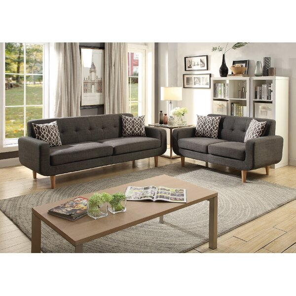 Donte Dorris Fabric 2 Piece Living Room Set by Langley Street