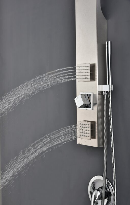 Valore Effusion Easy Install Rain Shower Head Panel & Reviews ...