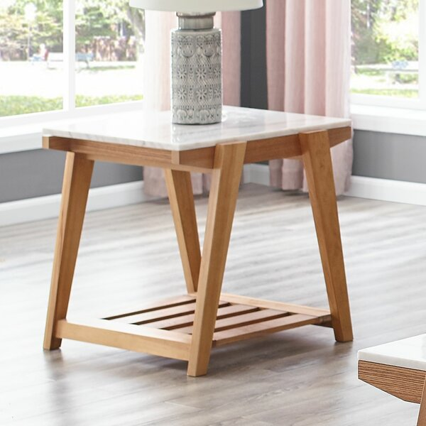 Rambo Square End Table by Brayden Studio Brayden Studio