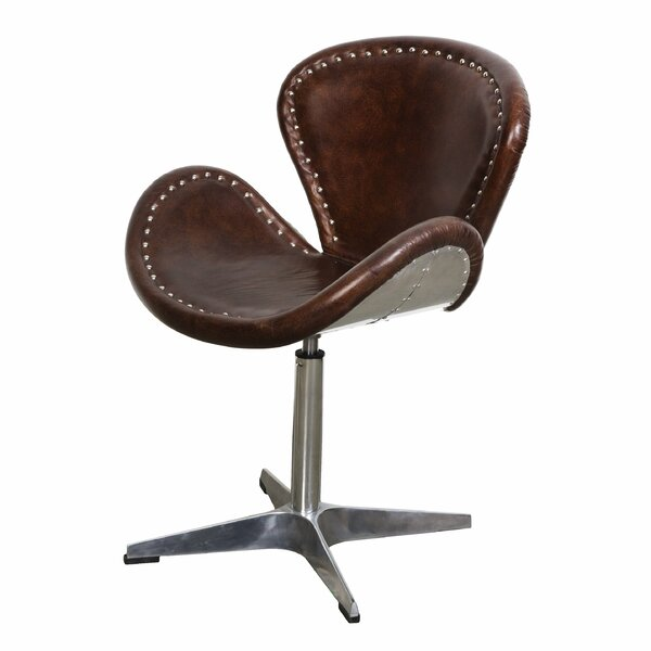 Bernardo Swivel Side Chair By 17 Stories