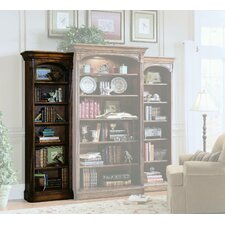 Brookhaven Left 78 Standard Bookcase by Hooker Furniture