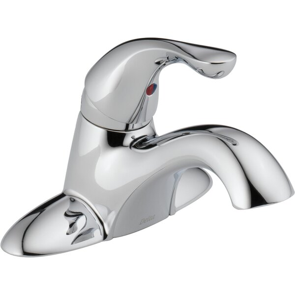 Centerset Bathroom Faucet With Drain Assembly And Diamond Seal Technology By Delta