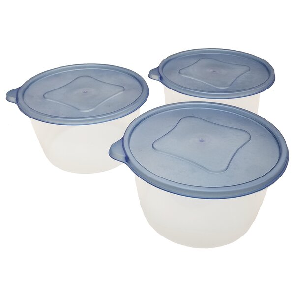 Altizer 18 Containers Round Food Storage Set (Set of 18) by Rebrilliant