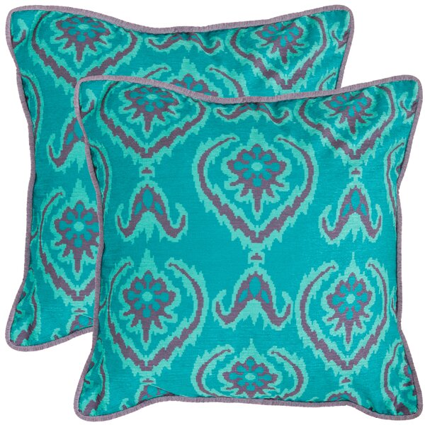 Erachidia Throw Pillow (Set of 2) by Bungalow Rose