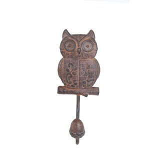 Valentino Owl Wall Hook by Bungalow Rose