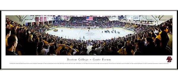 NCAA Hockey Standard Framed Photographic Print by Blakeway Worldwide Panoramas, Inc