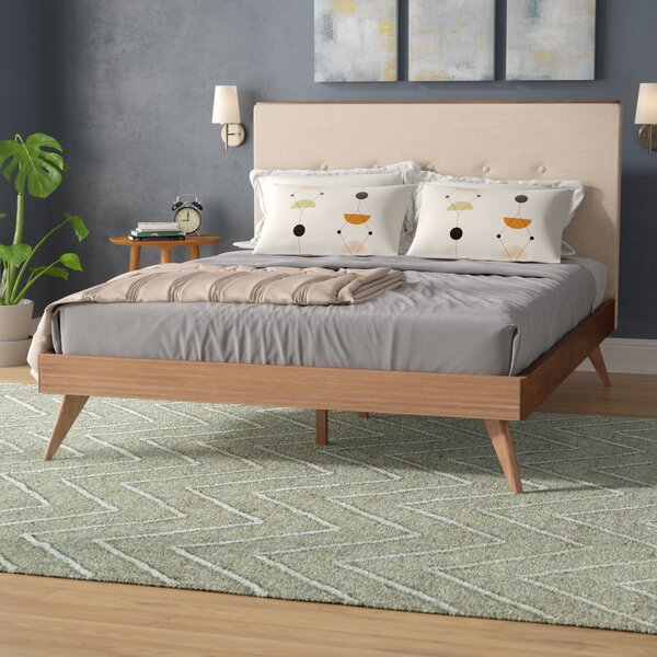 Luther Upholstered Platform Bed by Trule Teen