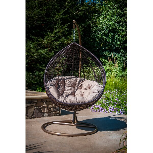 Yorba Hanging Swing Chair with Stand by Brayden Studio Brayden Studio