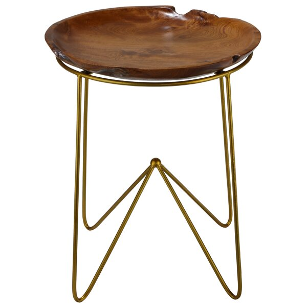 Paolo End Table by Bare Decor