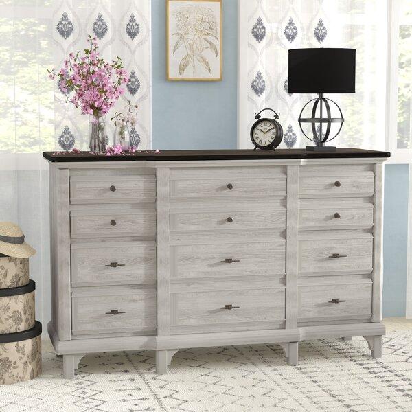 Georgetown 12 Drawer Dresser by Beachcrest Home