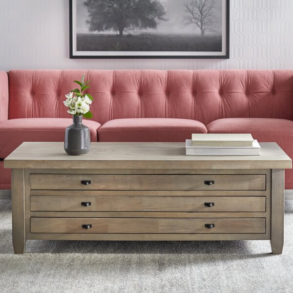 Karcher Coffee Table With Storage By Gracie Oaks