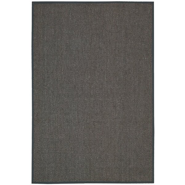 Kerala Hand Woven Java Charcoal Area Rug by Calvin Klein