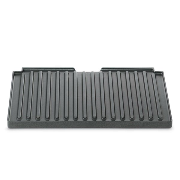 Smart Grill Interchangable Ribbed Plate by Brevill