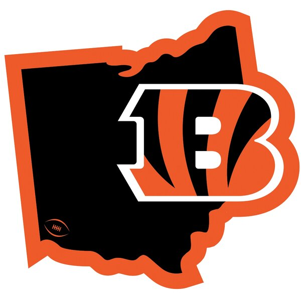NFL Cincinnati Bengals Home State Magnet by Siskiyou Products