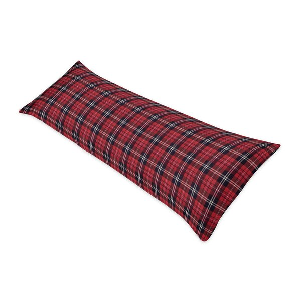 Rustic Patch Plaid Flannel Body Pillow Case by Sweet Jojo Designs