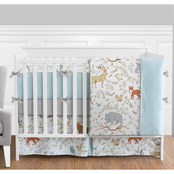 Woodland Toile 9 Piece Crib Bedding Set by Sweet Jojo Designs