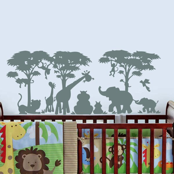 Arterberry African Safari Wall Decal by Zoomie Kids