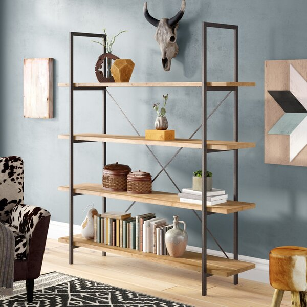 Best Caitlyn Etagere Bookcase by Union Rustic