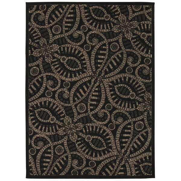 Color Motion Belle of the Ball Licorice Area Rug by Waverly