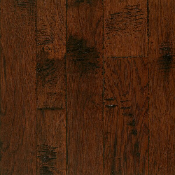Artesian Random Width Engineered Hickory Hardwood Flooring in Mull Spice by Armstrong Flooring