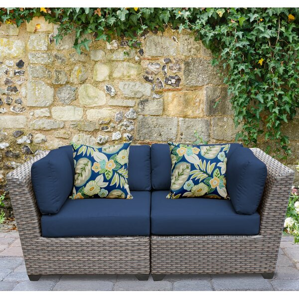Merlyn Patio Sofa with Cushions by Sol 72 Outdoor