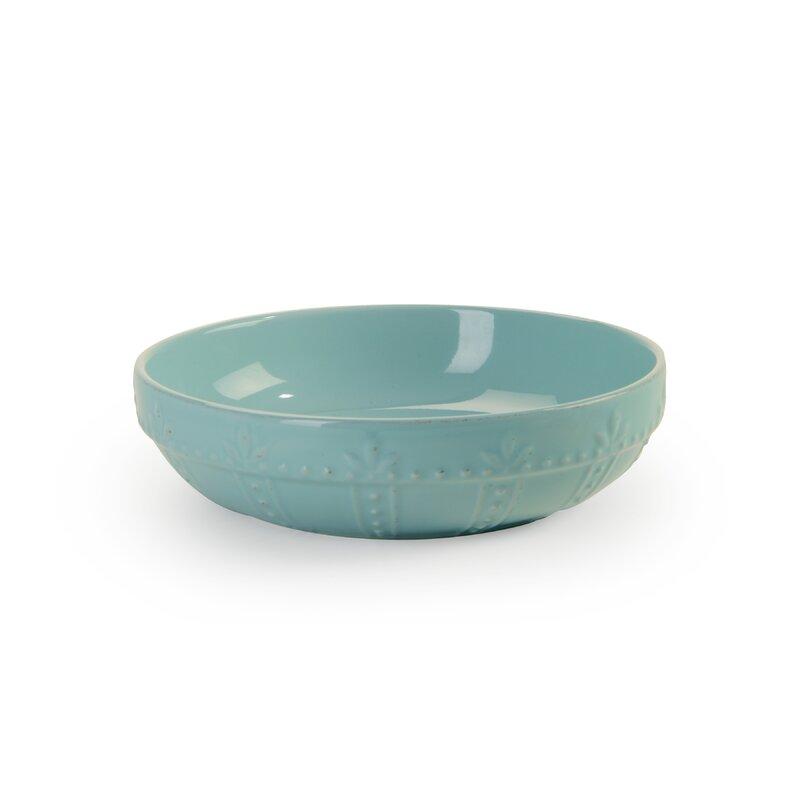 Genesee Individual Small Pasta Bowl #aqua #pastabowl
