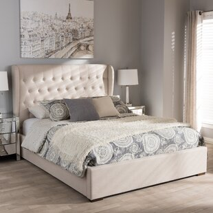 Queen Contemporary Wood Storage Platform Bed by Birch Lane™