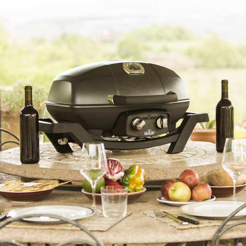 29.5 in. Travel Q Portable Grill