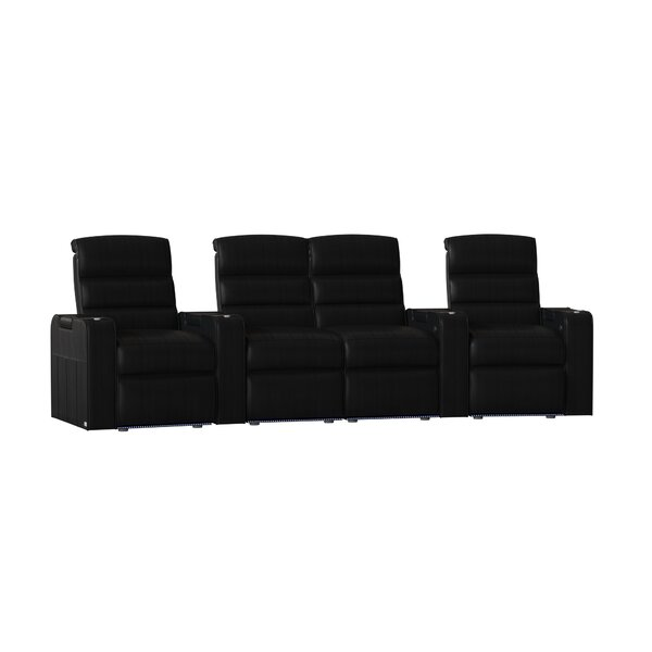 Magnum HR Series Curved Home Theater Loveseat (Row Of 4) By Red Barrel Studio