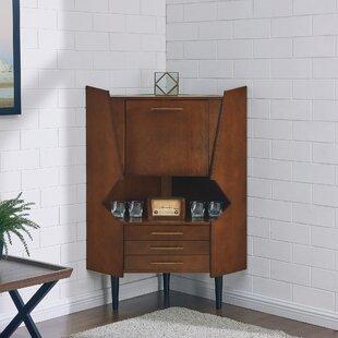 Small Corner Bar Cabinet   Wayfair