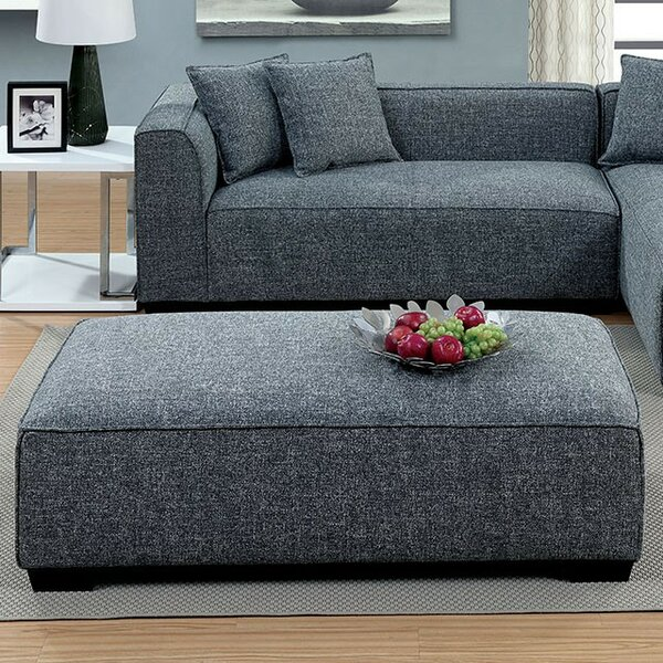Killeen Plush Cushioned Ottoman by Ivy Bronx