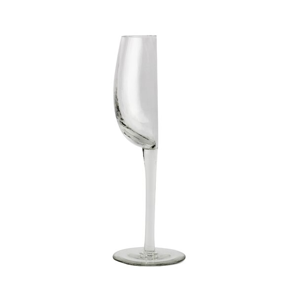 Gavrilin Half Glass 6.7 oz. Wine Glass (Set of 2) by Wrought Studio