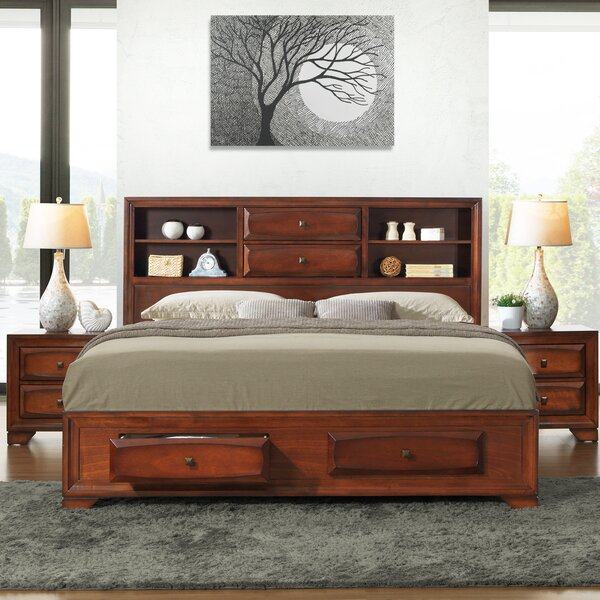 Beagan Queen Platform Solid Wood 5 Piece Bedroom Set by Winston Porter